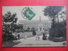 CAMBRAI  :  Le Collège et le Jardin.......VO.1908.