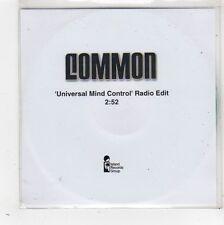 (FW640) Common, Universal Mind Control - DJ CD