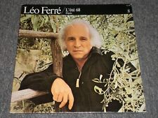 Léo Ferré~L'été 68 / Pépée~1979 Pop / Chanson~French IMPORT~Male Vocal~FAST SHIP