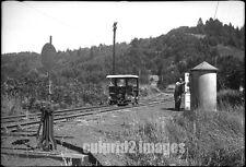 1955 EDDYVILLE OREGON Photo - Railroad Speeder Car
