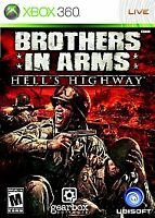 Brothers in Arms: Hell's Highway (Microsoft Xbox 360, 2008) Complete Video Game