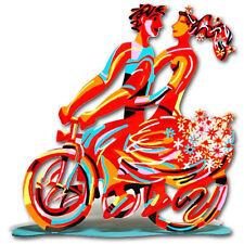 Spring ride Sculpture by David Gerstein - Israeli Art