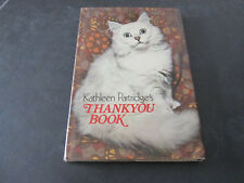 Thankyou book -  Kathleen Partridge's -  Paperback in inglese