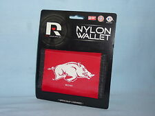 ARKANSAS RAZORBACKS   Nylon TriFold WALLET     by Rico   NIP