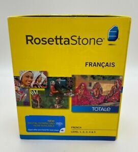 Rosetta Stone V4 TOTALe: French Level 1-5 Set for PC, Mac