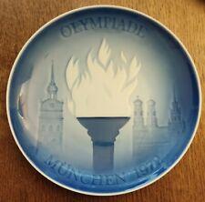 More details for  1972 munich olympic games munchen ltd ed plate copenhagen porcelain (free post)