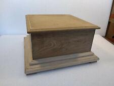 Caisse en bois pour gramophone .. boite coffre valise étui phonographe (1)