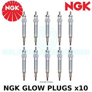 NGK Glow Plug (Diesel Engines) - Part No: YE12 - Stock no: 7794 - x10