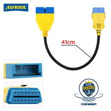 OBD1 12 Pin a 16 Pin Cable Adaptador de convertidor de OBD2 para GM OBD Diagnóstico Escáner