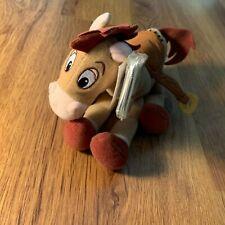"Disney Pixar Toy Story 2 Bullseye Star Bean 8"" Plush Mattel"