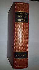 EMILY DICKINSONS  POESIE e LETTERE  Sansoni editore 1961