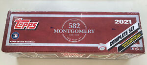 2021 Topps Montgomery Club Exclusive Stamped Factory Set Sealed (660 Cards)