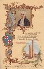 8155) BOLOGNA, LUIGI GALVANI DA BOLOGNA, VEDUTINA CON LE 2 TORRI. VIAGGIATA 1906