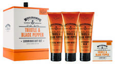 Scottish Fine Soaps Men's Grooming Thistle & Black Pepper Luxurious Gift Set