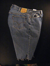 LEVIS 560 CUTOFF JEAN SHORTS Cut Off W 37 MEASURED High Waist Comfort Fit