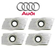 Audi A3 VW Beetle Golf Jetta TDI Set of 4 Fuel Injector Seal Plates Genuine