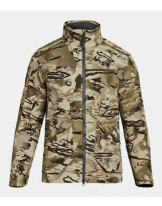 Under Armour Men's UA Barren Camo Grit Hunting Jacket #1320252-999 Size S SMALL