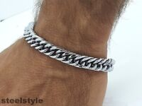 LARGE HEAVY CLASSIC LINK CHAIN  STAINESS STEEL 316L JEWELLERY BRACELET LB1