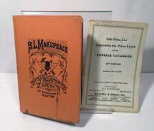 B.L. Makepeace Architecs Engineers Art Supply Catalog 1920's Vintage Pencils
