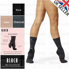 BLOCHSOX™ DANCE SOCK SPIN-SPOT BRAKE LINES GRIP CTRL LINES SAND CHARCOAL BLACK