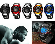 Casual Cool Boy's Outdoor LED Sports Watches Digital Watch Waterproof Mens Watch