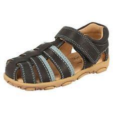 Chaussures bleues en cuir pour garçon de 2 à 16 ans pointure 25