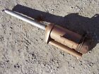 Massey Harris 333 MH tractor ORIGINAL oil bath precleaner assembly LONG pipe