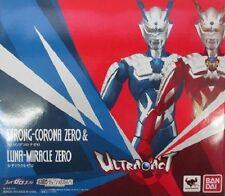 New Bandai ULTRA-ACT Ultraman Strong-Corona Zero & Luna-Miracle Zero ABS&PVC