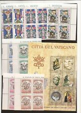 Vatican-3 sets(blocks) from 1983 (Mnh)