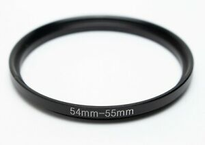Series VII (7) Male to 55mm Female Step Up Adapter Ring (54mm-55mm)