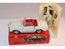 Tekno Denmark 928 Mercedes Benz 230 SL white near mint in box with instructions