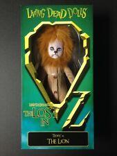 "Living Dead Dolls - Wizard of Oz - Teddy as ""The Lion"" - Mezco - Nib"