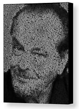 Jack Nicholson real Quotes Mosaic AMAZING Framed 9X11 Limited Edition Art w/COA