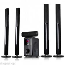 BeFree Bluetooth 5.1 Channel Surroud Sound Speaker System with USB and SD Slots