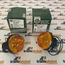 Land Rover Series 1 2 3 Rear Indicator Flasher Light Lamp x2- Bearmach - RTC5524