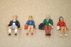 LGB 5042 (4) Seated Traveler Figures *G-Scale*