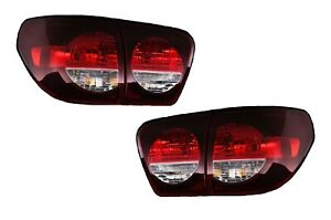 FIT TOYOTA SEQUOIA 2008-2020 SMOKED TAILLIGHTS TAIL LIGHTS LAMPS 4 PIECE SET NEW