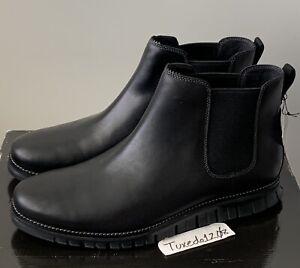 New! Cole Haan ZeroGrand Chelsea Boot sz11.5 Black Leather lunargrand C30163