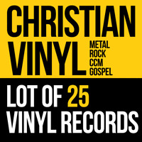Mix Lot Of 25 Christian Vinyl LP Records - New Factory Sealed. New old stock.