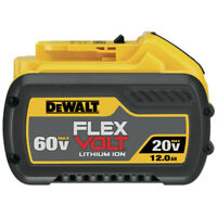 DeWalt DCB612 20V/60V MAX FLEXVOLT 12 Ah Li-Ion Battery (1-Pc) New