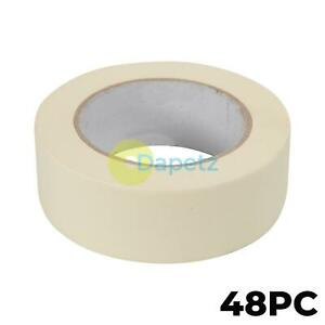 48x Masking Tape 38mmx50m Decorator CleanPeel Outdoor/Indoor Professional Choice
