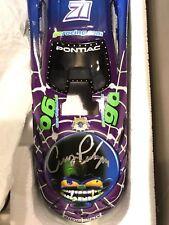 RARE 1999 Cruz Pedregon Signed Autographed GoRacing NHRA 1:24 Scale Funny Car