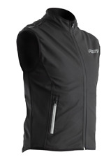 RST Thermal Motorbike Motorcycle Wind Block Mens Black Gilet