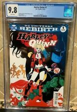 DC HARLEY QUINN #1 CGC 9.8! REBIRTH RARE! KEY #1 FROM EPIC SERIES SOLD OUT 2