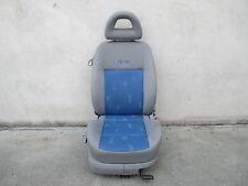Beifahrersitz klappbar VW Lupo Sitz Ausstattung grau / blau