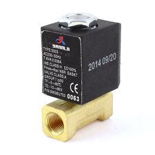 """AC 230V G 1/8""""Gewinde 2 Anschluss Wasser Öl Gas Pneumatisches Magnetventil"""