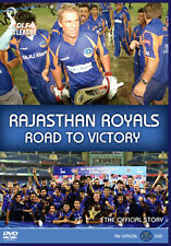 DVD:RAJASTHAN ROYALS - ROAD TO VICTORY - NEW Region 2 UK