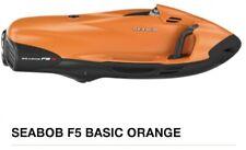 SEABOB F5 BASIC ORANGE 2019 NEW + bonus SEABOB Cart.+SEABOB Rack.+Special Colour