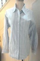 Talbots Petites Ladies Striped Long Sleeved Shirt - Brand new with tags