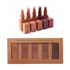 3CE Stylenanda Mood Recipe Lip Color Mini Kit Matte Lipstick 5 Pcs New in Box
